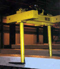 10 Ton Bundle Lift Attachment With Rotating Forks