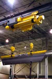 Automated Monorail Hoist and Tractor